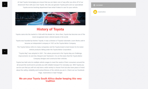 screencapture-businessonview-co-za-listing-businesses-in-gauteng-businesses-in-vaal-triangle-local-automotive-vaal-toyota-vereeniging-2020-07-07-11_07_49